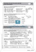 Regelkarten Grammatik: Adjektive, Adverbien, Präpositionen, Konjunktionen Preview 12