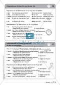 Regelkarten Grammatik: Adjektive, Adverbien, Präpositionen, Konjunktionen Preview 14
