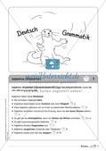 Regelkarten Grammatik: Adjektive, Adverbien, Präpositionen, Konjunktionen Preview 3