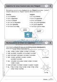 Regelkarten Grammatik: Adjektive, Adverbien, Präpositionen, Konjunktionen Preview 4