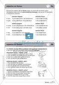 Regelkarten Grammatik: Adjektive, Adverbien, Präpositionen, Konjunktionen Preview 5