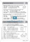 Regelkarten Grammatik: Adjektive, Adverbien, Präpositionen, Konjunktionen Preview 9