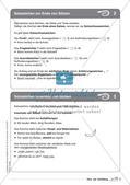 Regelkarten Grammatik: Sätze und Satzbildung Preview 4