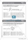 Regelkarten Grammatik: Sätze und Satzbildung Preview 6