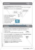 Regelkarten Grammatik: Sätze und Satzbildung Preview 8