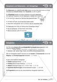Regelkarten Grammatik: Sätze und Satzbildung Preview 9