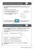 Regelkarten Grammatik: Wörtliche und indirekte Rede Preview 4