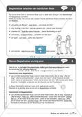 Regelkarten Grammatik: Wörtliche und indirekte Rede Preview 6