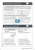 Regelkarten Grammatik: Wörtliche und indirekte Rede Preview 7