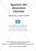 Naturalismus und Literatur um 1900 Preview 2