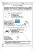 Soziales Lernen im Religionsunterricht: Nächstenliebe und Helfen Preview 15