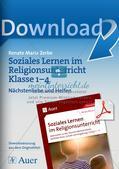 Soziales Lernen im Religionsunterricht: Nächstenliebe und Helfen Preview 1