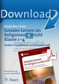 Soziales Lernen im Religionsunterricht: Respekt und Freundschaft Preview 1