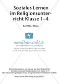 Soziales Lernen im Religionsunterricht: Konflikte lösen Preview 2