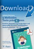 Methodensammlung: Texte präsentieren Preview 1