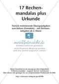 Rechenmandalas: Multiplikation und Division Preview 2