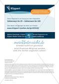 Zahldarstellungen: Stellenwerttabelle und Hunderterfeld Preview 13