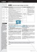 Präsentationsregeln: Vorstellung eines Steckbriefs Preview 3