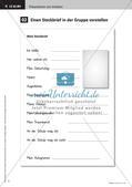 Präsentationsregeln: Vorstellung eines Steckbriefs Preview 7