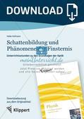 Optik: Schattenbildung und Phänomene der Finsternis Preview 1