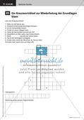 Optik: Kreuzworträtsel zur Wiederholung Preview 4