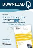 Optik: Stationenrallye zu Lupe, Fotoapparat und Co. Preview 1
