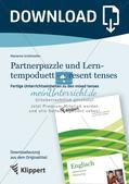Kooperative Methoden zu Present tenses Preview 1