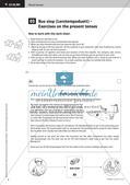 Kooperative Methoden zu Present tenses Preview 8