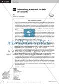 Methodentraining: Erarbeitung und Zusammenfassung von Texten Preview 6