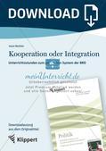 Unterrichtsstunden zum politischen System der BRD: Kooperation oder Integration? Preview 1
