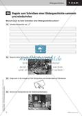 Bildrallye durchführen - Schreibregeln erarbeiten   Schreiben einer Bildergeschichte   Stafettenpräsentation Preview 13