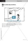 Bildrallye durchführen - Schreibregeln erarbeiten   Schreiben einer Bildergeschichte   Stafettenpräsentation Preview 4