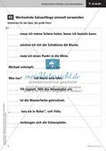 Treffende Wörter und Satzanfänge verwenden   Lernspirale   Stafettenpräsentation Preview 13