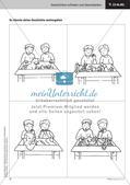 Treffende Wörter und Satzanfänge verwenden   Lernspirale   Stafettenpräsentation Preview 17