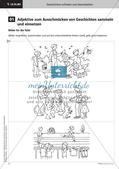 Treffende Wörter und Satzanfänge verwenden   Lernspirale   Stafettenpräsentation Preview 4