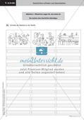 Treffende Wörter und Satzanfänge verwenden   Lernspirale   Stafettenpräsentation Preview 6