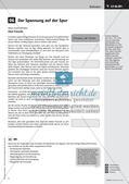 Die Bürgschaft - Friedrich Schiller;  Grafische Darstellung des Spannungsverlaufs einer Ballade; Präsentation Preview 4