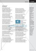 Die Bürgschaft - Friedrich Schiller;  Grafische Darstellung des Spannungsverlaufs einer Ballade; Präsentation Preview 6