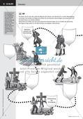 Die Bürgschaft - Friedrich Schiller;  Grafische Darstellung des Spannungsverlaufs einer Ballade; Präsentation Preview 7