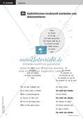 Gedichte lesen, erarbeiten und gestalten  freies Reden    kreativer Umgang zur Sprache   Präsentation Preview 11