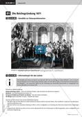 Fertige Unterrichtsstunden zum Kaiserreich: Reichsgründung 1871 Preview 4