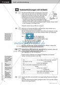 Fertige Stunden zu Groß- und Kleinschreibung: Substantivierungen mit Artikeln und Anredepronomen Preview 4