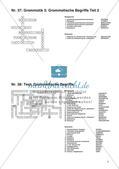 Kreuzworträtsel zu grammatischen Fachbegriffen Preview 8