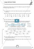 Rechtschreibtraining: Silben und Vokale Preview 14