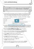 Rechtschreibtraining: Groß- und Klein-, Getrennt- und Zusammenschreibung Preview 5