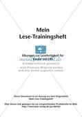 Übungen zur Lesefertigkeit bei LRS Preview 2