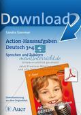 Bewegte Hausaufgaben: Sprechen und Zuhören Preview 1