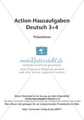 Bewegte Hausaufgaben: Präsentieren Preview 2