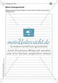 Kooperative Lernmethoden: Feriengeschichten Preview 5