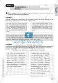 Stationenarbeit Aufsätze: Lineare Erörterung Preview 10